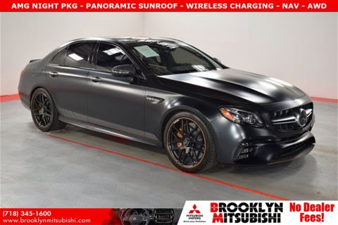 Pre-Owned 2018 Mercedes-Benz E-Class E 63 S AMG®
